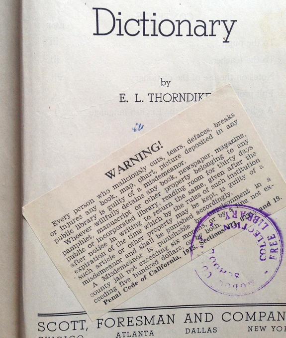 dictionarypage